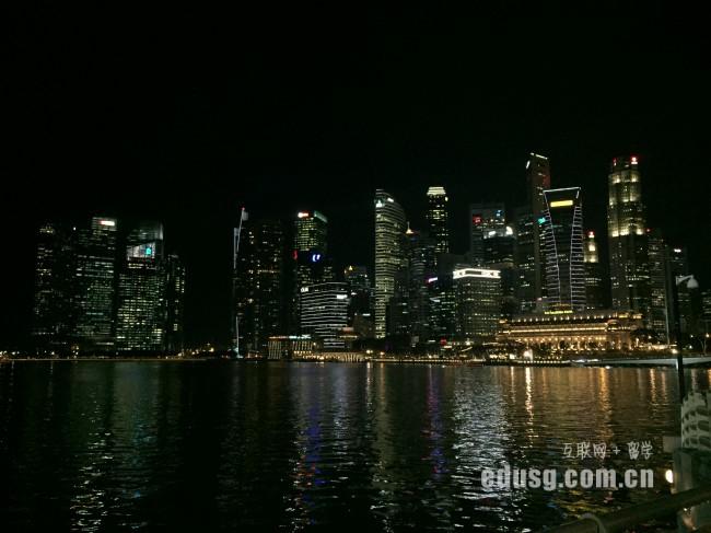 新加坡读初中费用