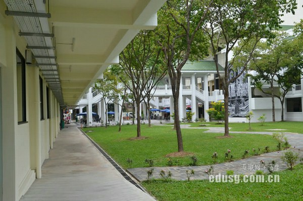去新加坡留学多少费用一年