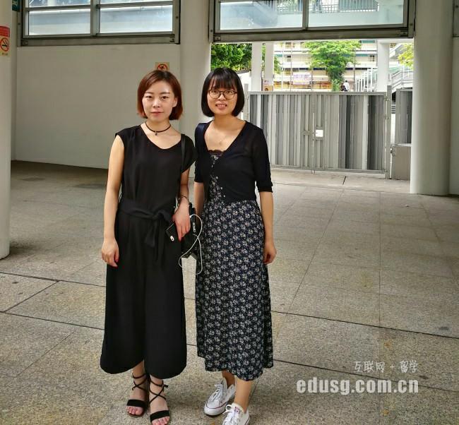 新加坡读高中参加入学考试
