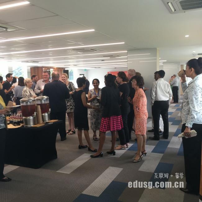 教外留学应邀拜访澳洲詹姆斯库克大学新加坡校区