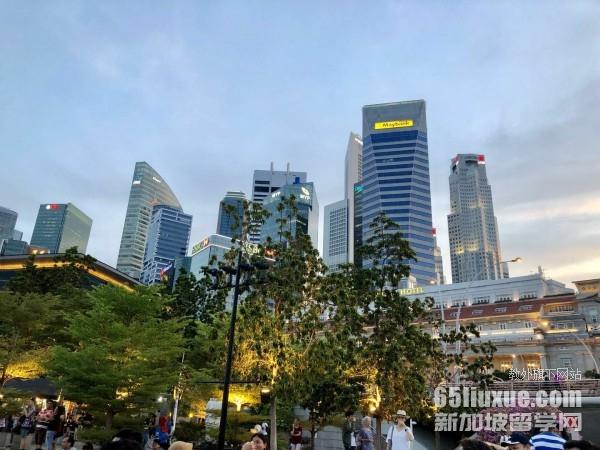 新加坡读会计硕士的学校