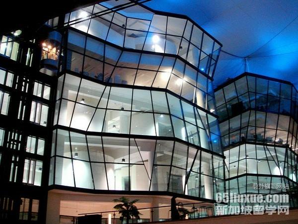 新加坡拉萨尔艺术学院室内设计