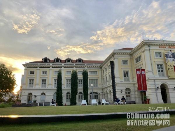 新加坡传媒类大学排行榜