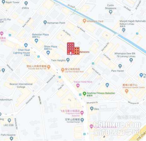 新加坡科廷大学附近租房