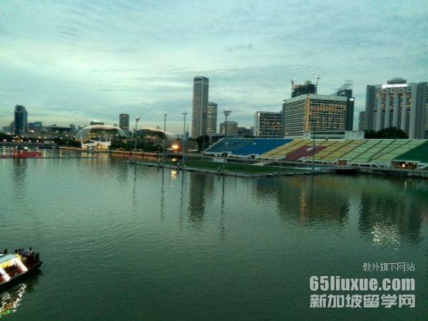 在新加坡上中学
