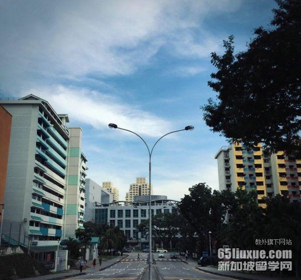 中考后去新加坡留学