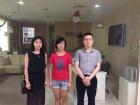 教外留学到访新加坡旅游办理学院获院方称誉