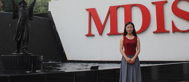 教外留学应邀访问新加坡管理发展学院