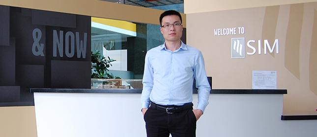 教外留学应邀访问新加坡管理学院
