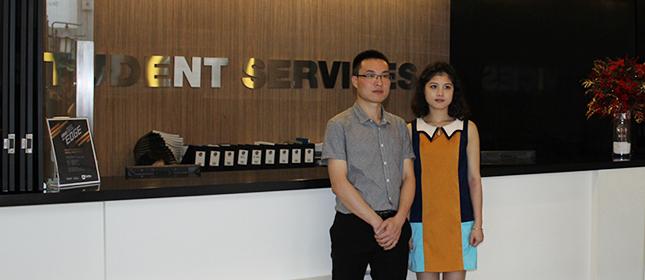 教外留学应邀访问新加坡莱佛士设计学院