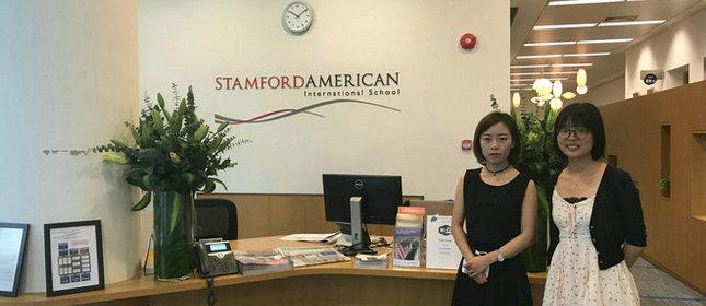 教外留学应邀访问斯坦福美国国际学校