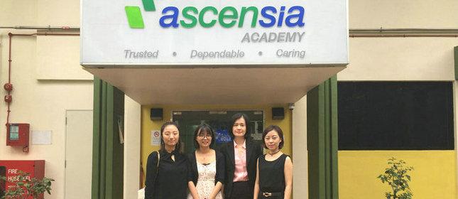 教外留学应邀访问新加坡爱信国际学院