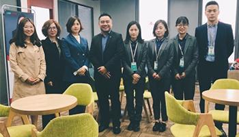 欢迎新加坡楷博高等教育学院代表来访教外留学