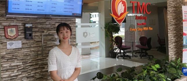 环外留学应邀访问新加坡TMC学院