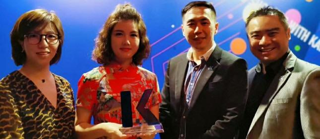 环外留学再获新加坡kaplan精英代理大奖