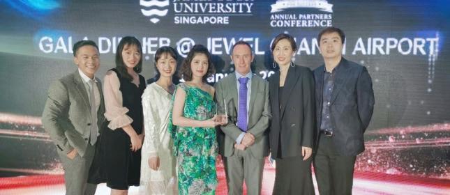 星耀樟宜 环外留学再次荣获JCU全球十佳合作伙伴奖